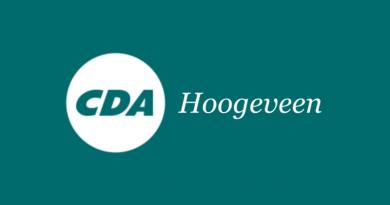 Henk Reinders nieuwe voorzitter CDA Hoogeveen