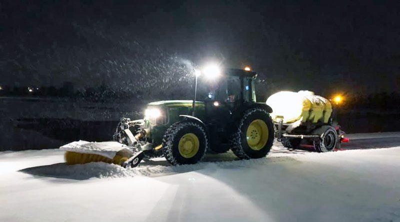 Rijkswaterstaat en gemeente staan klaar om verwachte sneeuw(overlast) aan te pakken