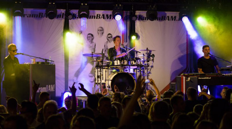 Radio Continu Drive-in show en karramBam in feestweek Hollandscheveld