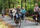 Prachtig fietsweer bij speeltuin fietstocht  Hollandscheveld