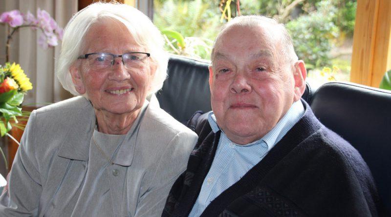 Echtpaar Wesdorp-Noort  65 jaar getrouwd