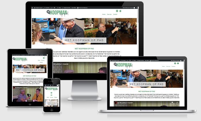 Aalders ICT ontwikkeld nieuwe site voor Koopman op pad