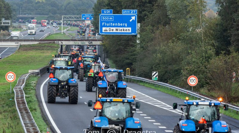 Mijd snelwegen zoveel mogelijk woensdagochtend 16 oktober 2019