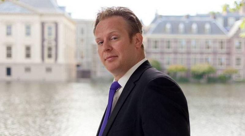 Pieter Heerma, fractievoorzitter CDA stelt zich voor in Hoogeveen