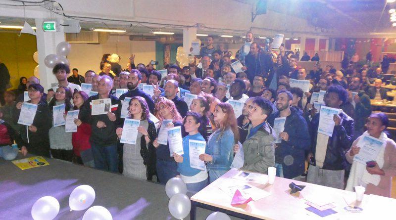 Succesvol Aan de Slag Hoogeveen reikt certificaten uit