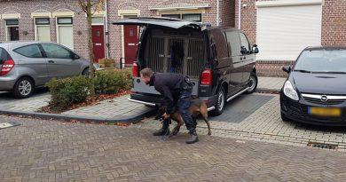 Arrestatie team valt woning in Hoogeveen binnen