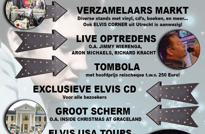 Elvis fandag in het DES gebouw