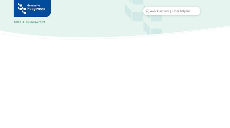 Opinie: Geplukte website gemeente Hoogeveen