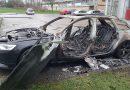 Autobrand aan Helios Hoogeveen