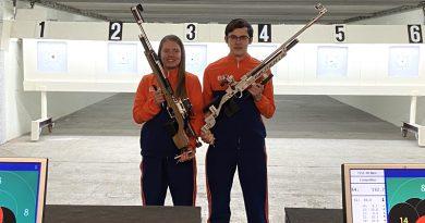 Isabel de Vries en Stefan van de Belt naar EK luchtdrukwapens voor junioren