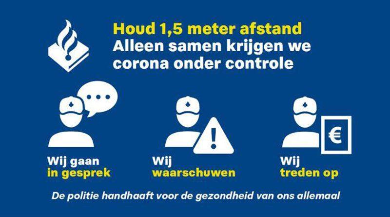 Al 1400 'corona' boetes uitgedeeld in Nederland