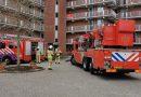 Wasdroger in brand Hoogeveen