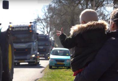 Grote verrassing voor 3 jarige Youri in Stuifzand