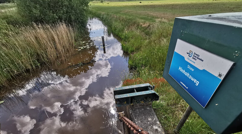 extra maatregel vanwege de droogte Waterschap Drents Overijsselse Delta