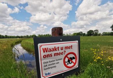 Laat je hond niet poepen in het weiland
