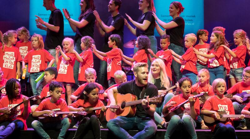 70.000 euro extra voor muziekonderwijs op Drentse basisscholen