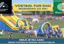 Voetbalfeest op 22 juli