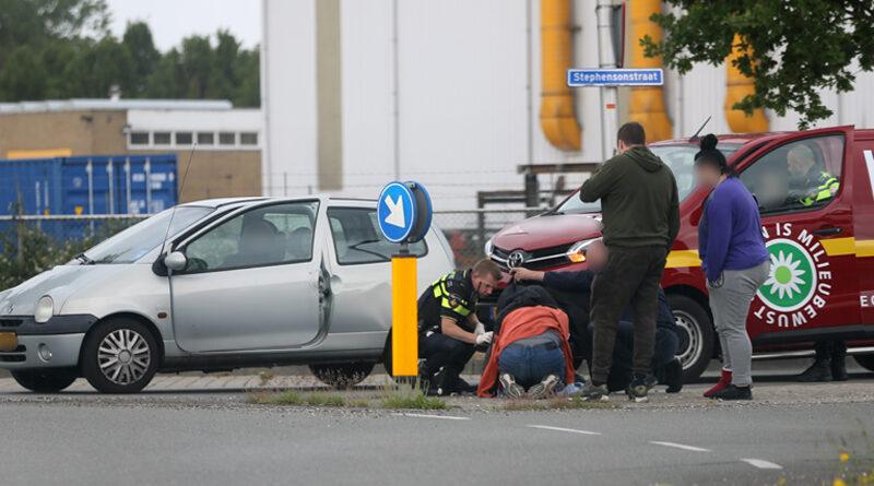Gewonden bij ongeval op Stephensonstraat in Hoogeveen