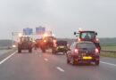 Protesterende boeren blokkeren auto en snelwegen rondom Hoogeveen