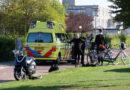 Fietsster gewond door botsing met scooter