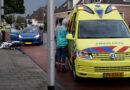 Ongeval auto en scooter op Wilhelminastraat
