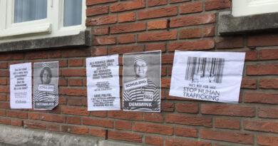 Gemeentehuis opnieuw beklad door actiegroep
