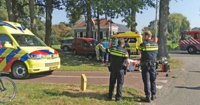 4 gewonden bij ongeval met beknelling in Hoogeveen