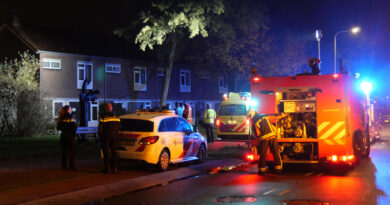 Persoon gewond bij woningbrand Carstenstraat