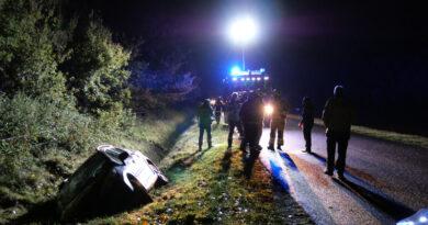 Hulpdiensten rukken uit voor ongeval: bestuurder spoorloos