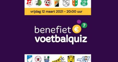 Benefiet Voetbalquiz clubs regio Hoogeveen
