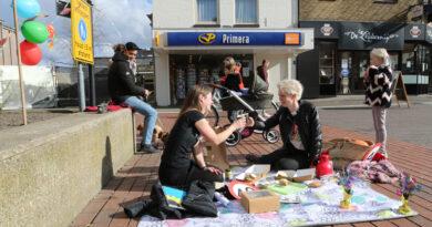 Ludieke actie voor horeca op Hoofdstraat Hoogeveen