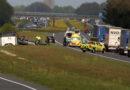 Meerdere voertuigen betrokken bij ongeval op de A37