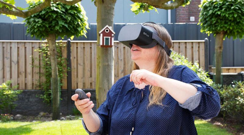 VR-brillen helpen patiënten van Treant Zorggroep pijn te begrijpen