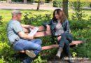 Koopman in gesprek met Burgemeester en wethouders Hoogeveen