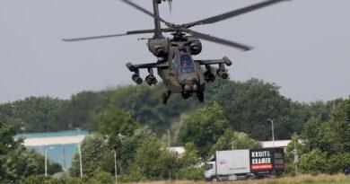 Defensie Helikopter Commando oefeningen in de regio