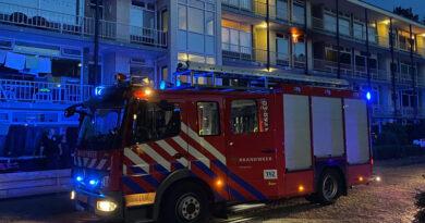 Evacuatie bij brand in appartementencomplex in Hoogeveen
