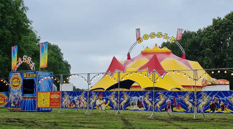 Circus Bossle geeft coronaproof voorstellingen in Hoogeveen